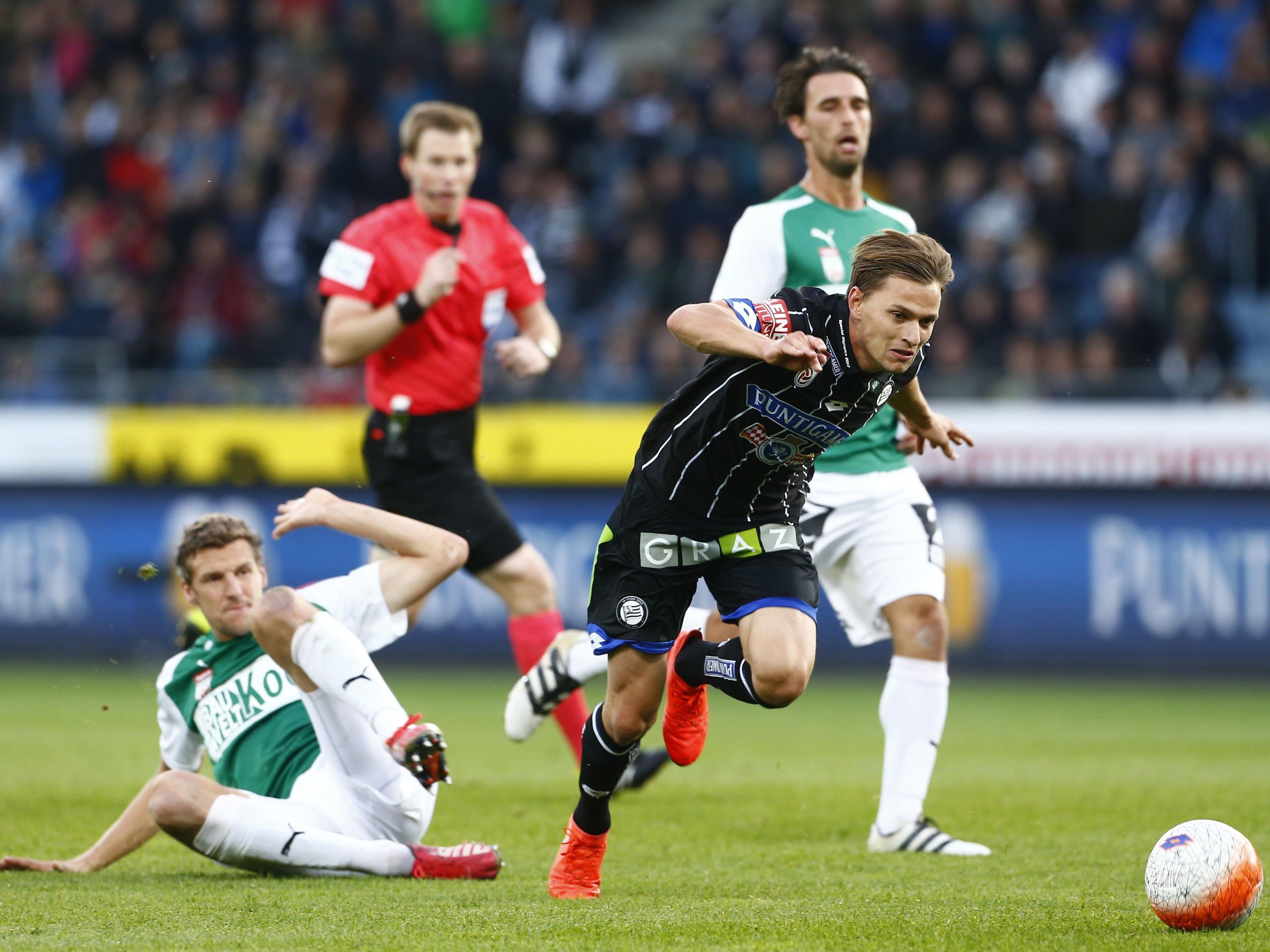 LIVE-Ticker zum Spiel SV Mattersburg gegen Sturm Graz ab 18.30 Uhr.