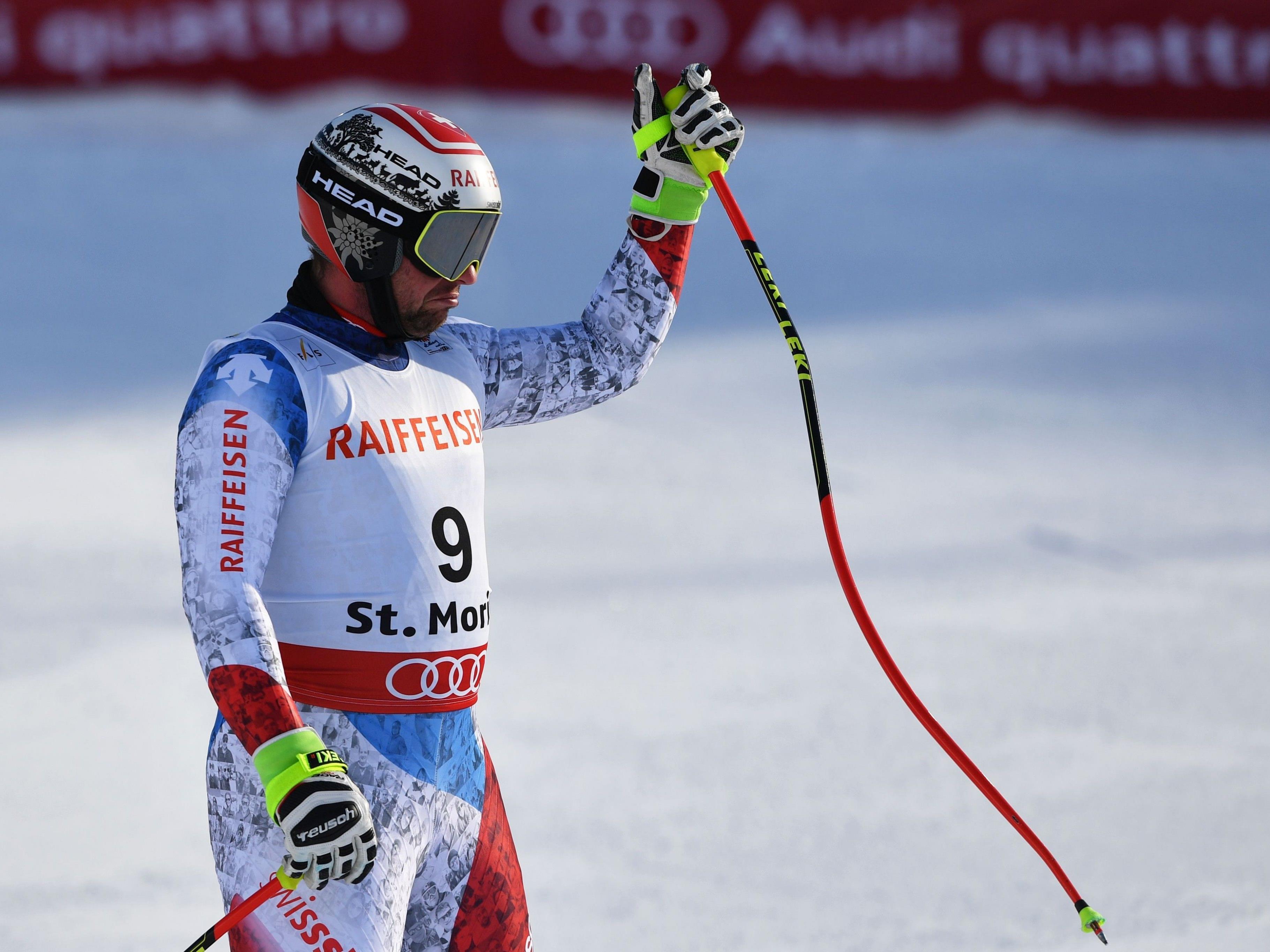 Beat Feuz war Ski-WM-Abfahrt-Trainingsbester.