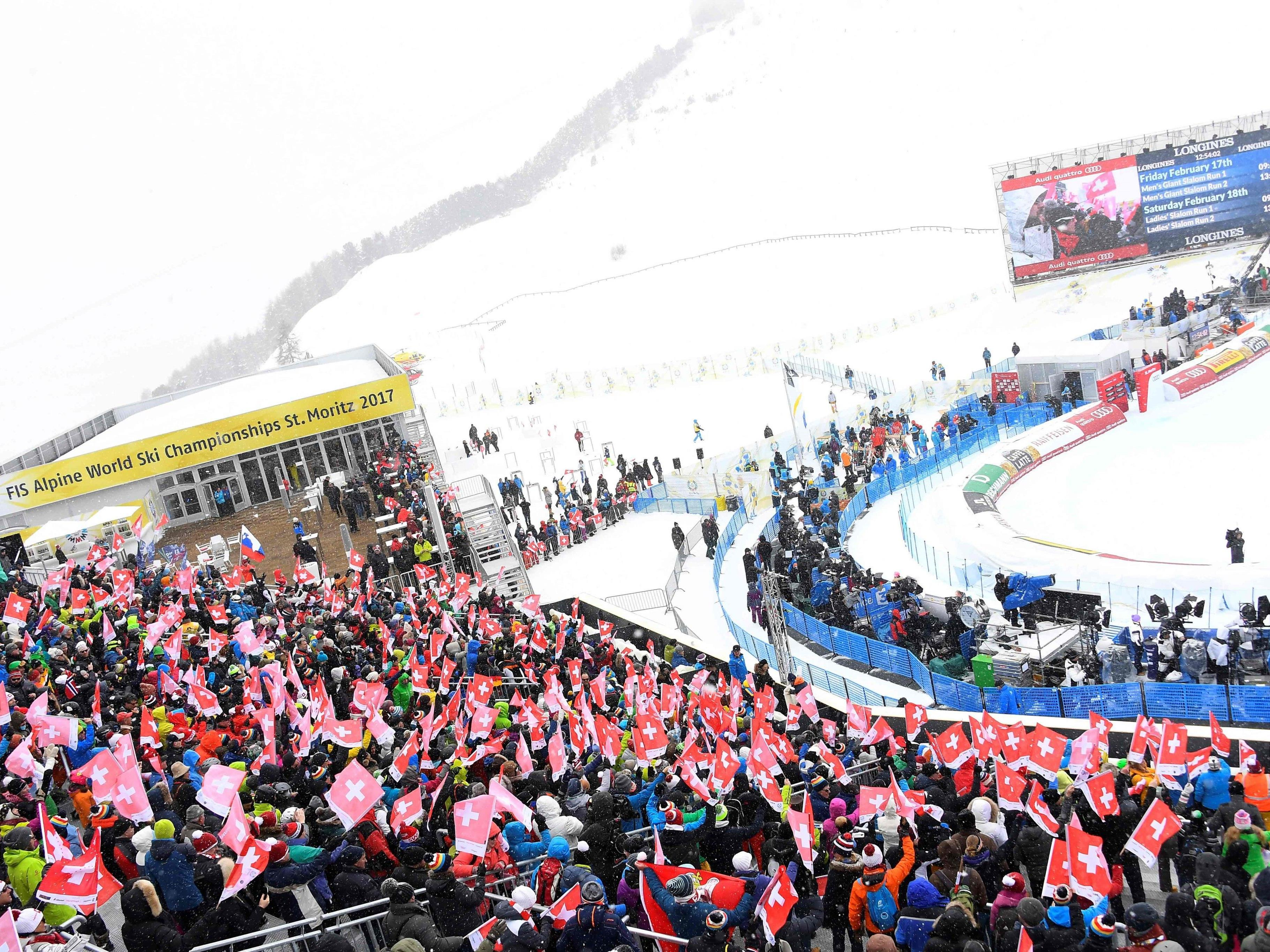 60.000 Zuschauer werden am Wochenende in St. Moritz erwartet.