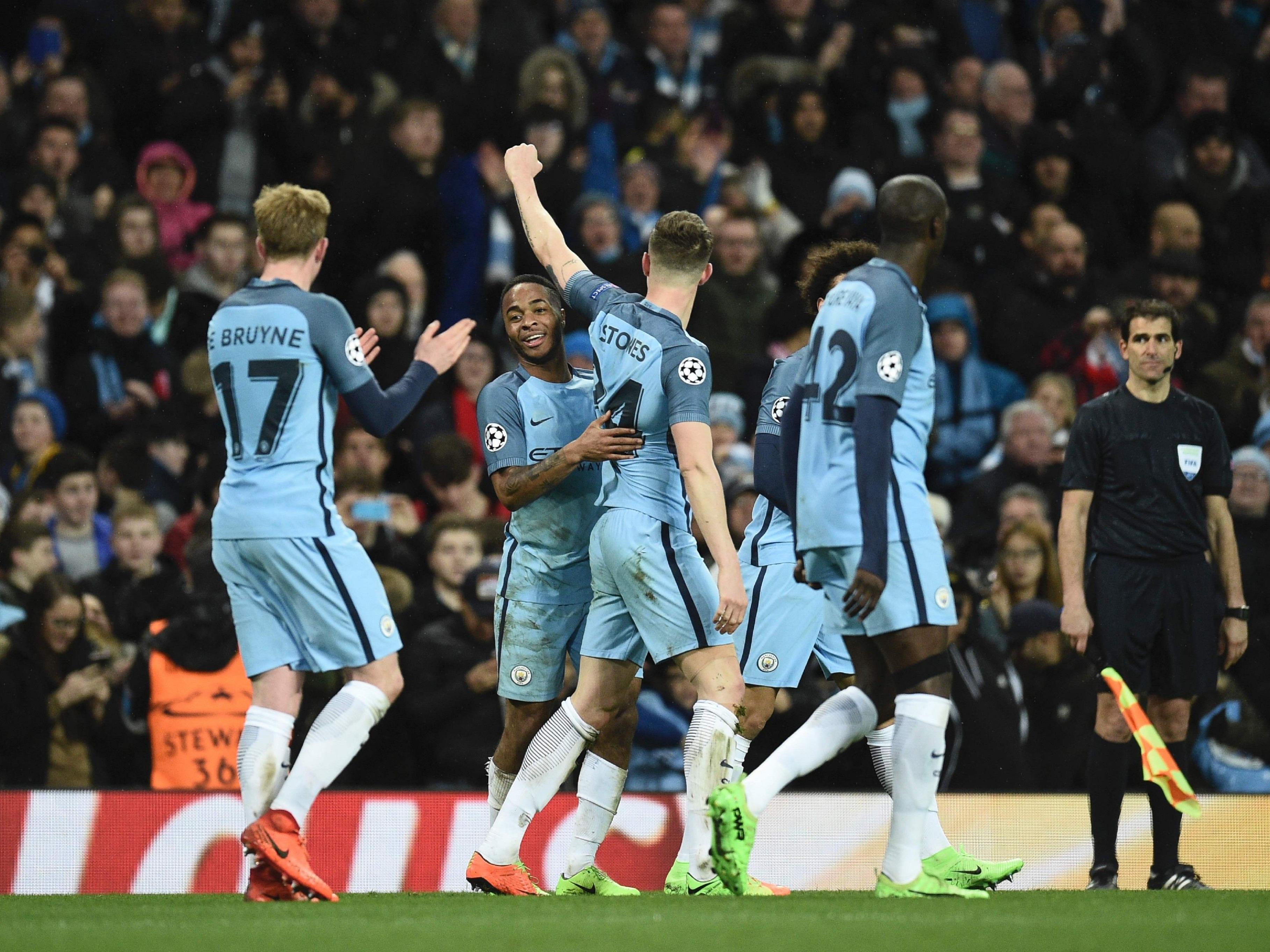 Manchester City musste lange kämpfen, bis der Sieg fixiert war.