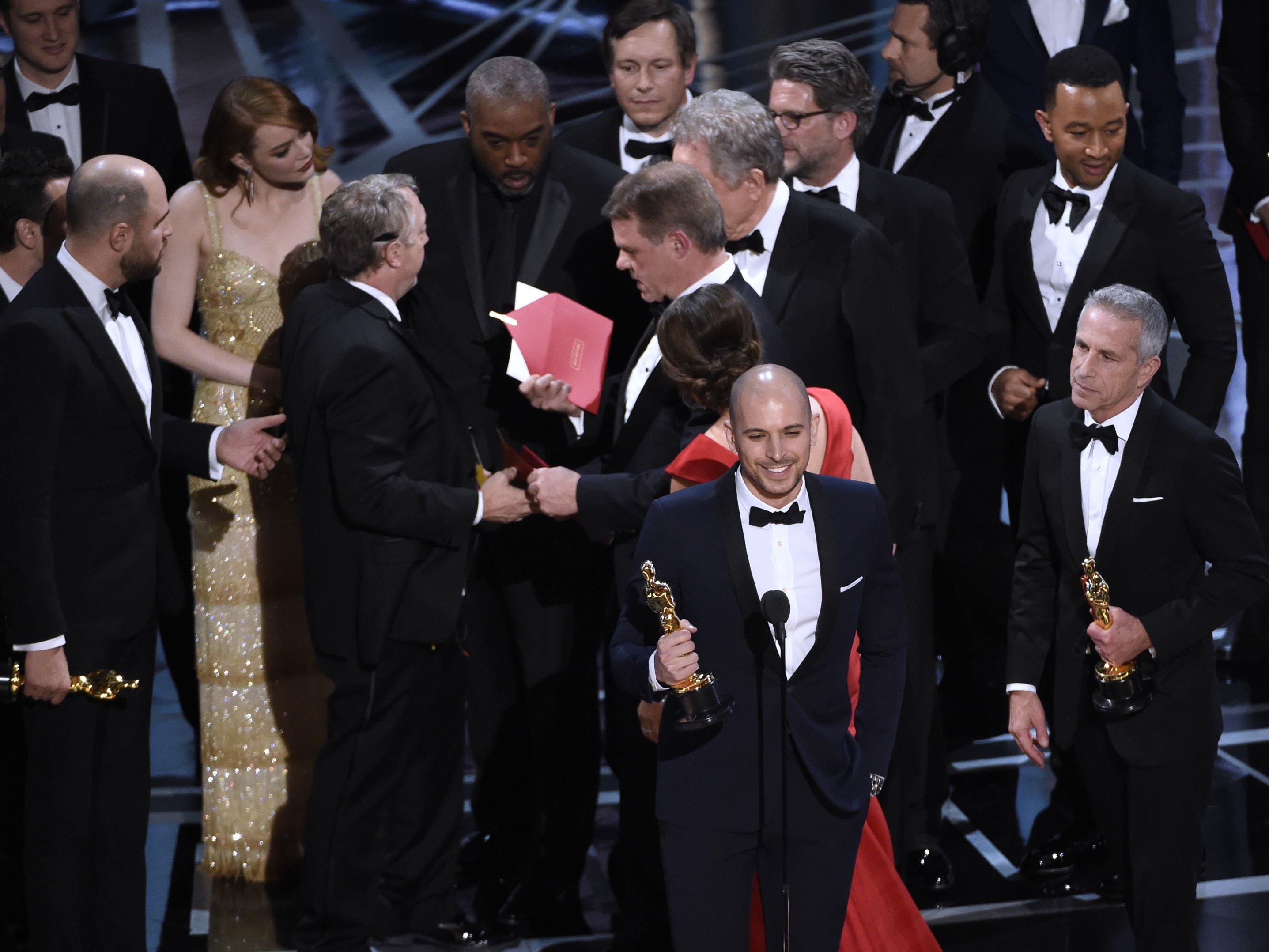 Bei den Oscars passierte 2017 eine Riesenpanne.