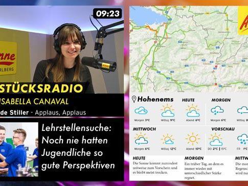 Antenne Vorarlberg Visual Radio - Für alle die ihren Lieblingsmoderatoren bei der Arbeit zusehen, und nicht nur zuhören wollen.