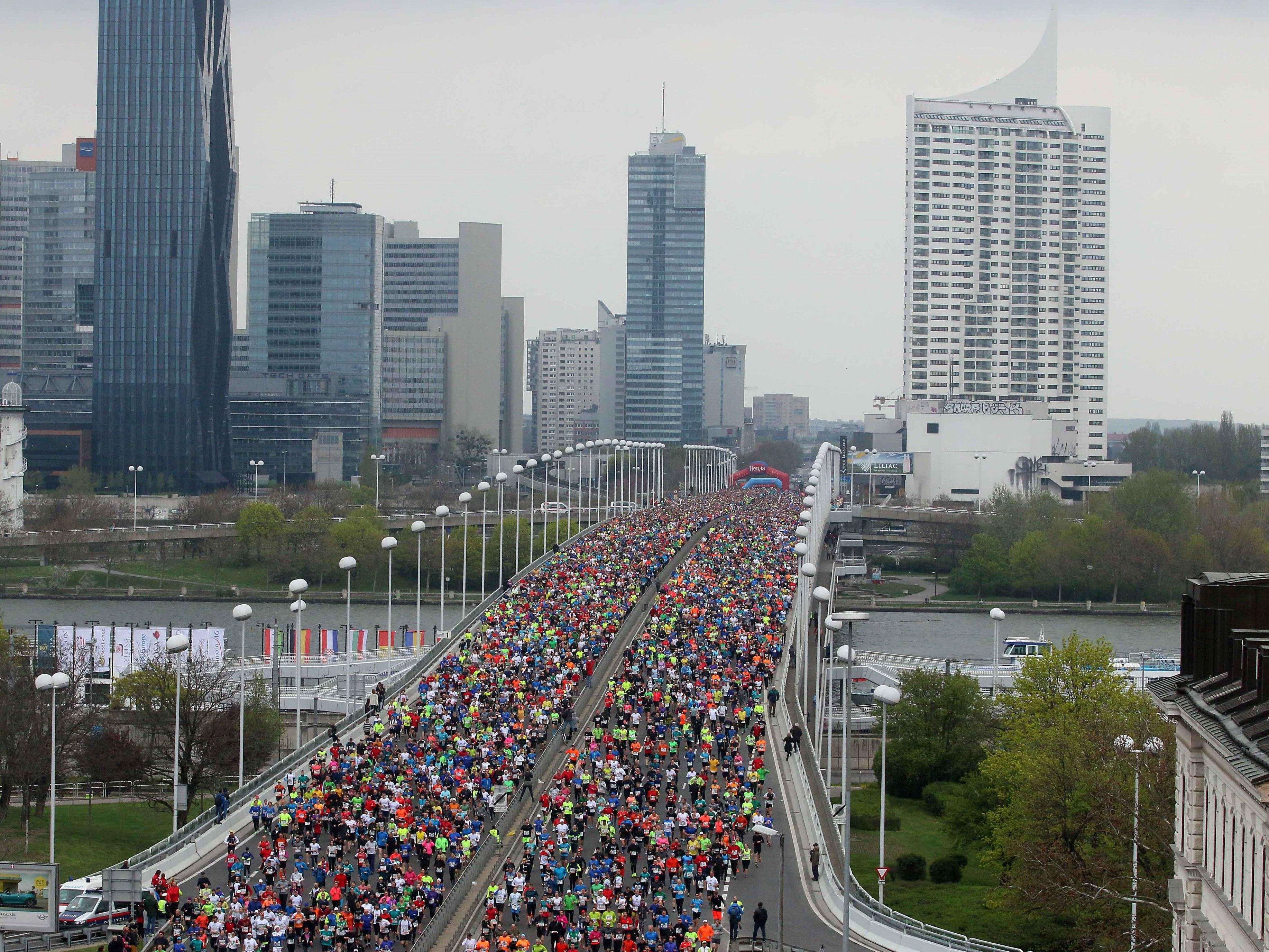 Der Vienna City Marathon findet heuer am 23. April statt.