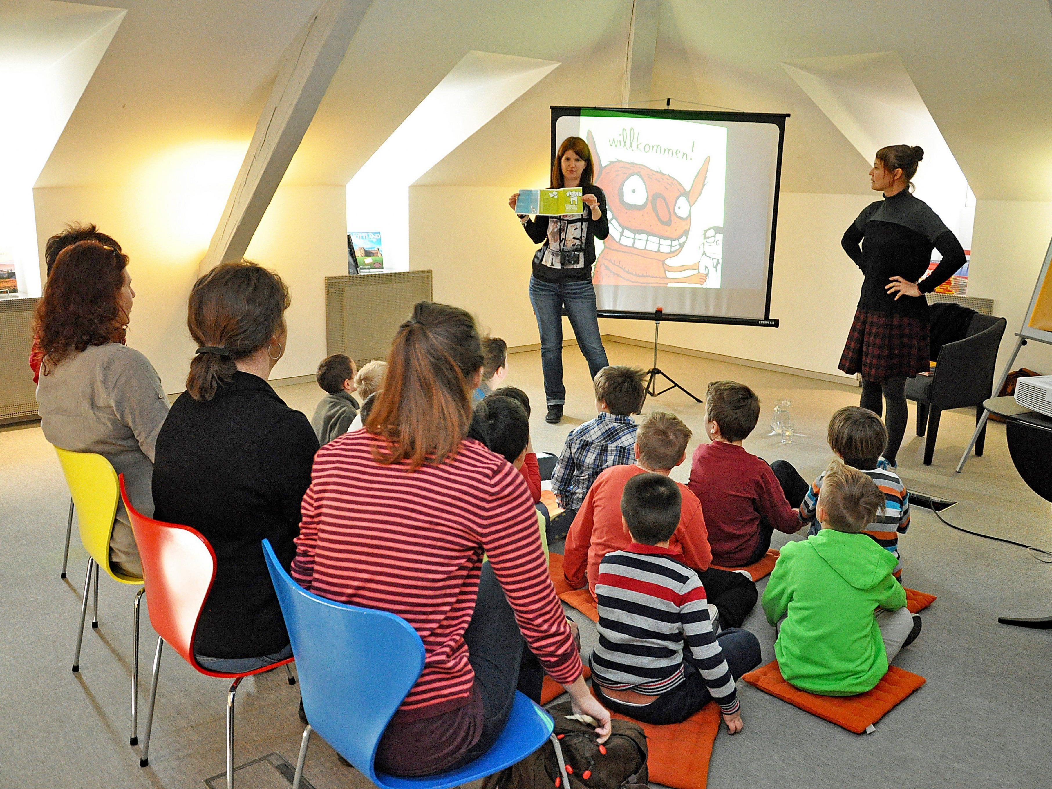 Ein buntes Programm für kleine und große Lesefreudigen wird während den Lesefestwochen angeboten.
