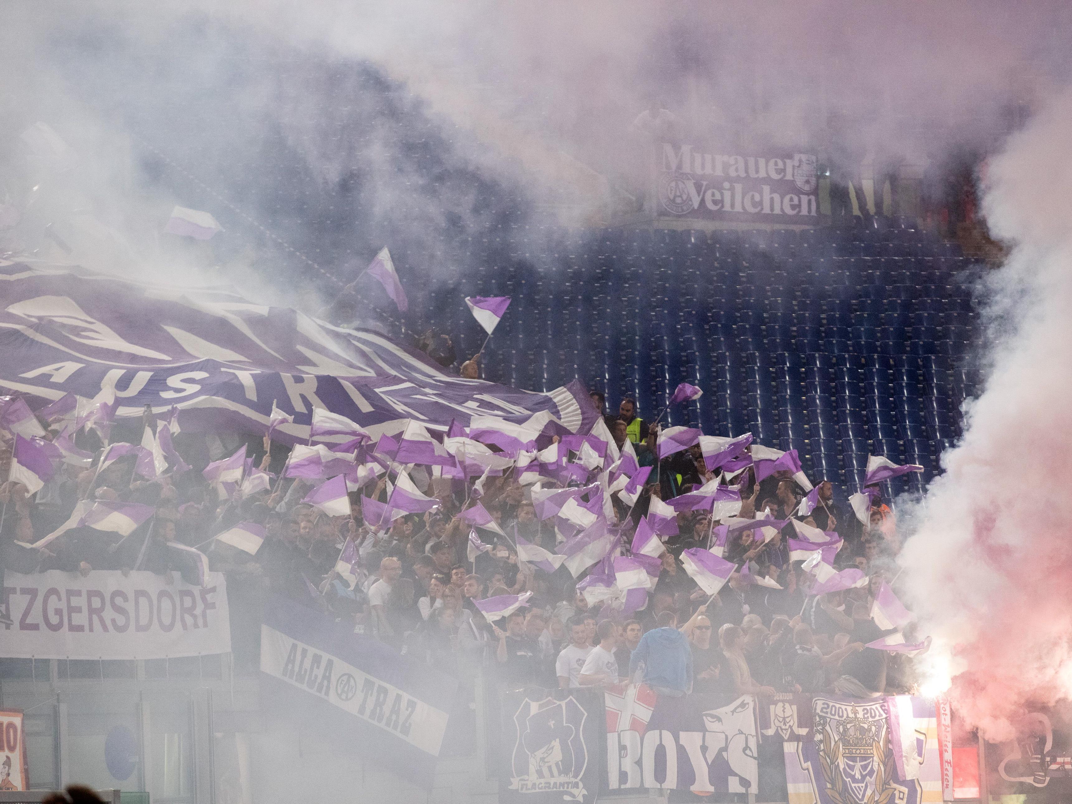 Beim Derby am Sonntag sammelt die Austria für den Sportklub und die Vienna