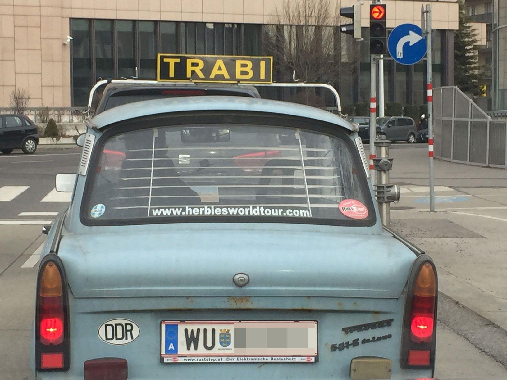 """Der """"Trabi"""" in Wien-Landstraße"""