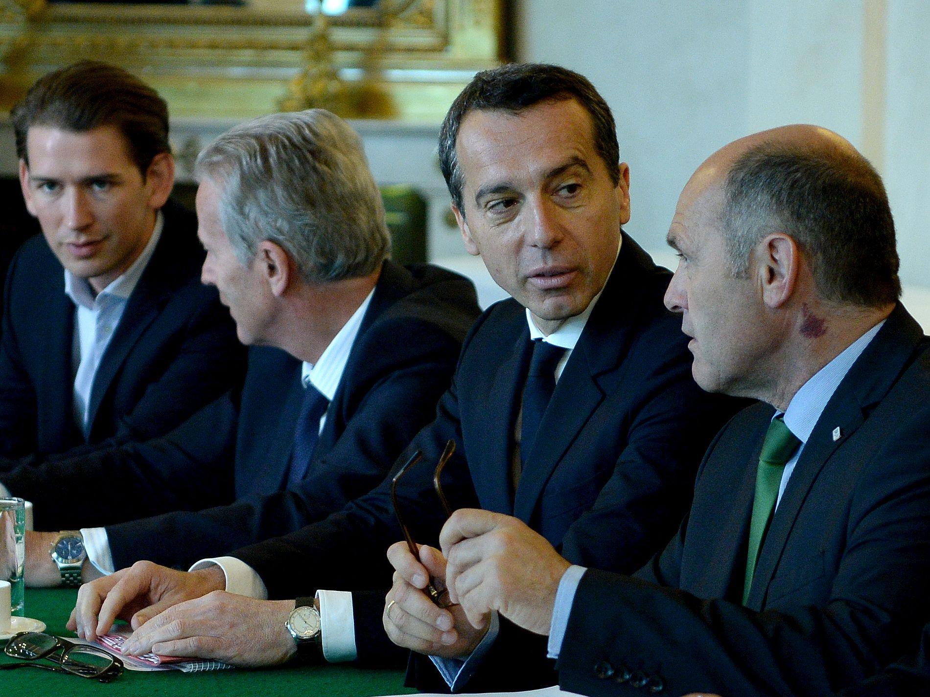 Bundeskanzler Kern ist gegen die Vorschläge von Innenminister Sobotka
