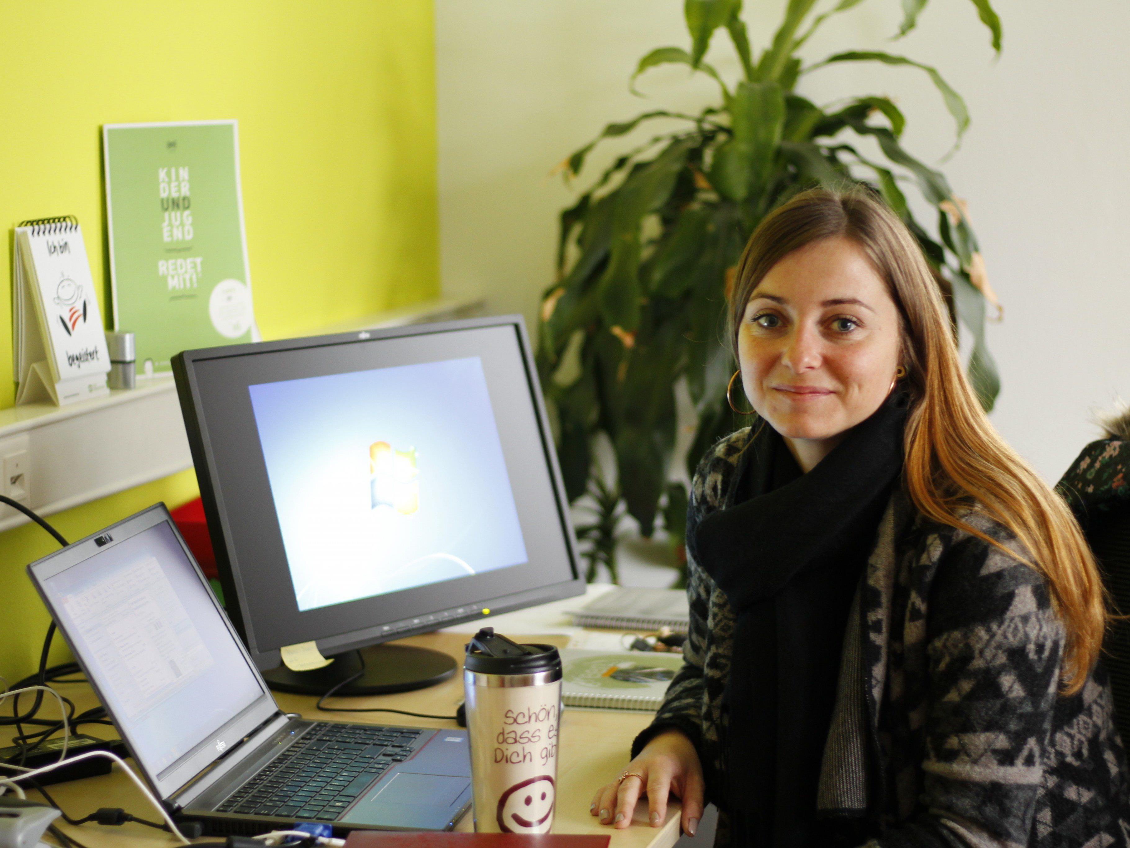 Jaquline Oberauer ist seit Dezember 2016 als Pädagogische Leiterin tätig.