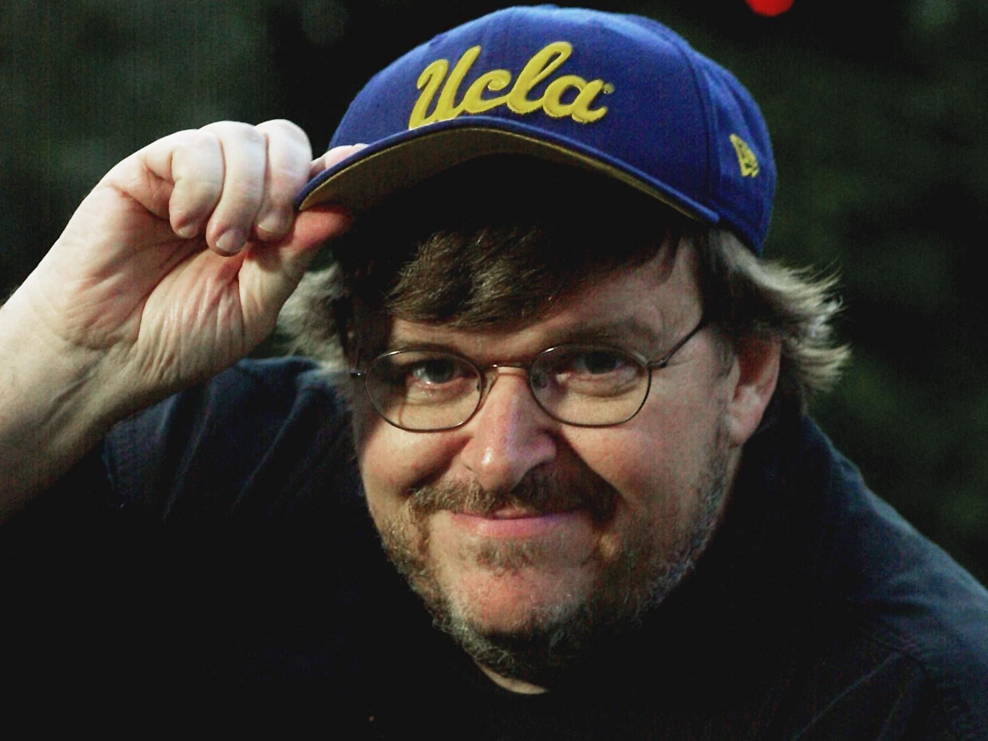"""Bowling for Columbine""-Regisseur Michael Moore attackierte George W. Bush"