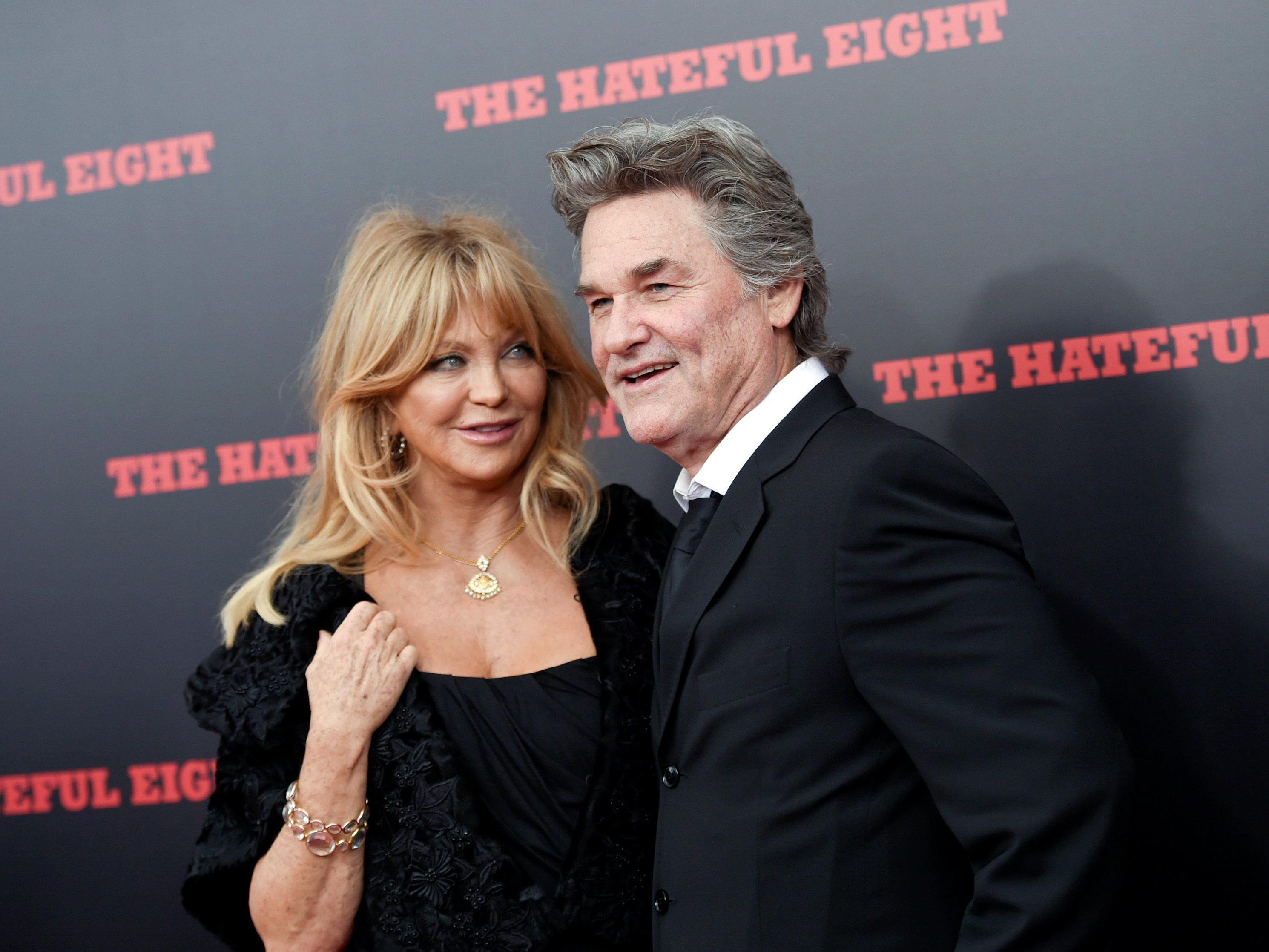 Goldie Hawn als Stargast am Wiener Opernball in der Lugner-Loge.