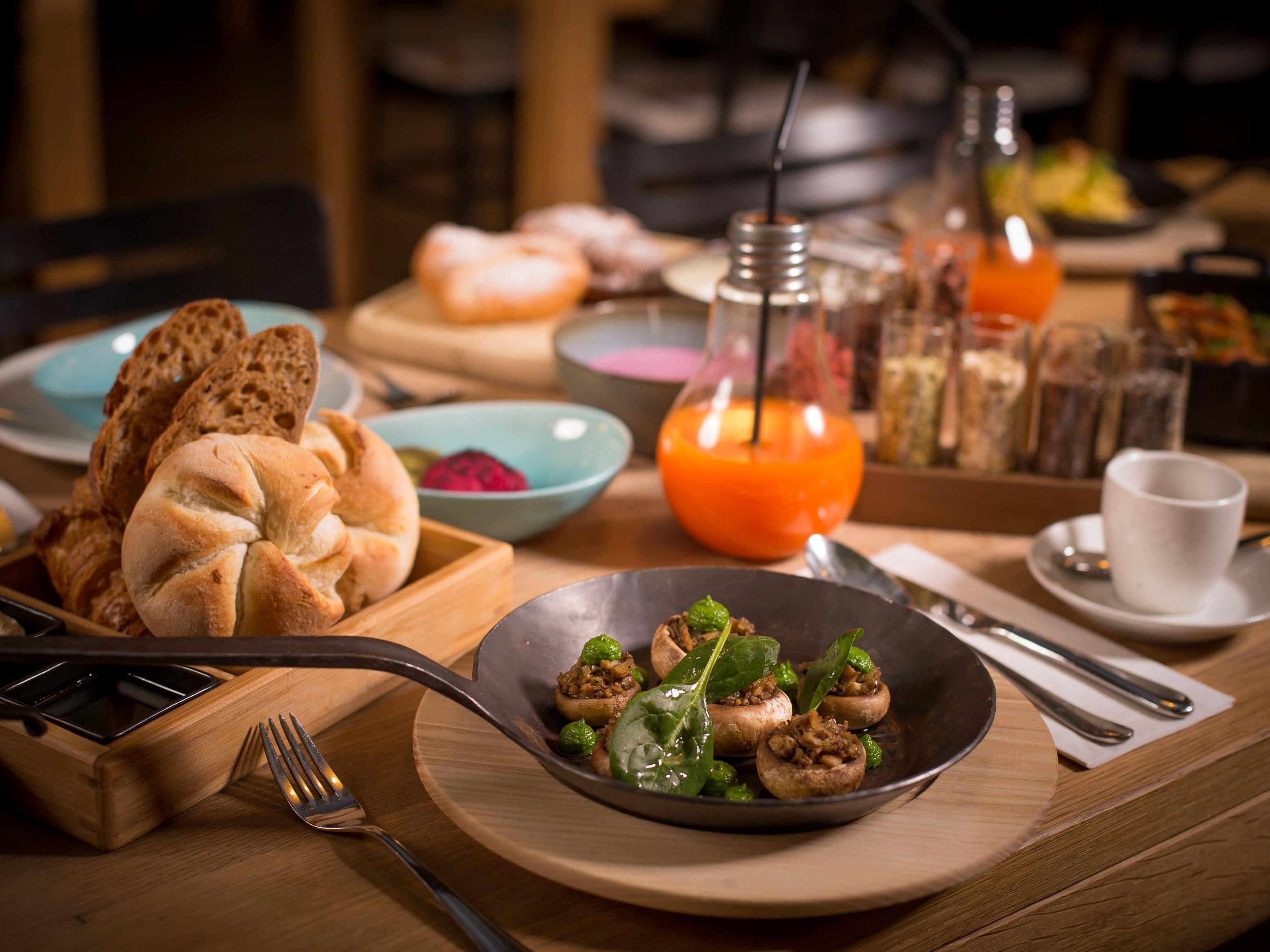"""Im TIAN Bistro am Spittelberg wird das Frühstück """"geteilt""""."""