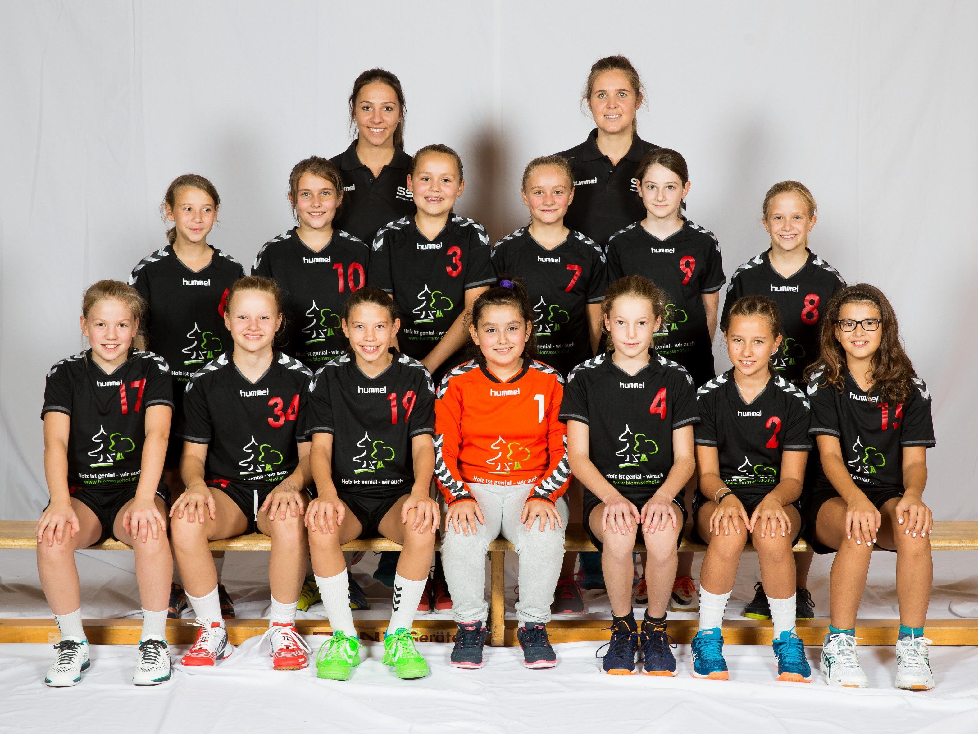 Das U12-Team des SSV Dornbirn Schoren  konnte am Wochenende erfolgreich die Tabellenspitze verteidigen.