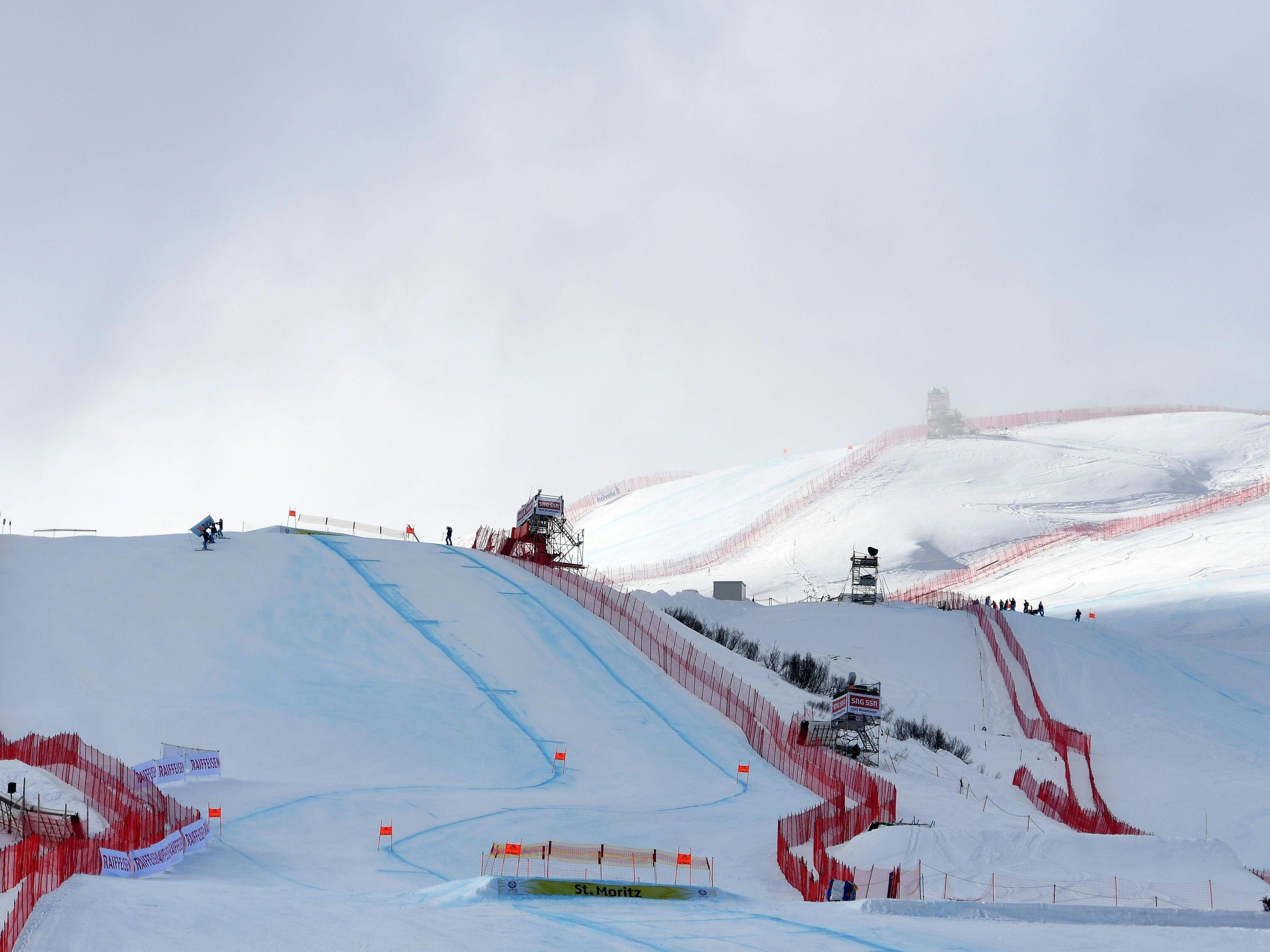 Bei der Ski-WM werden die Abfahrt der Herren und der Damen am Sonntag stattfinden.