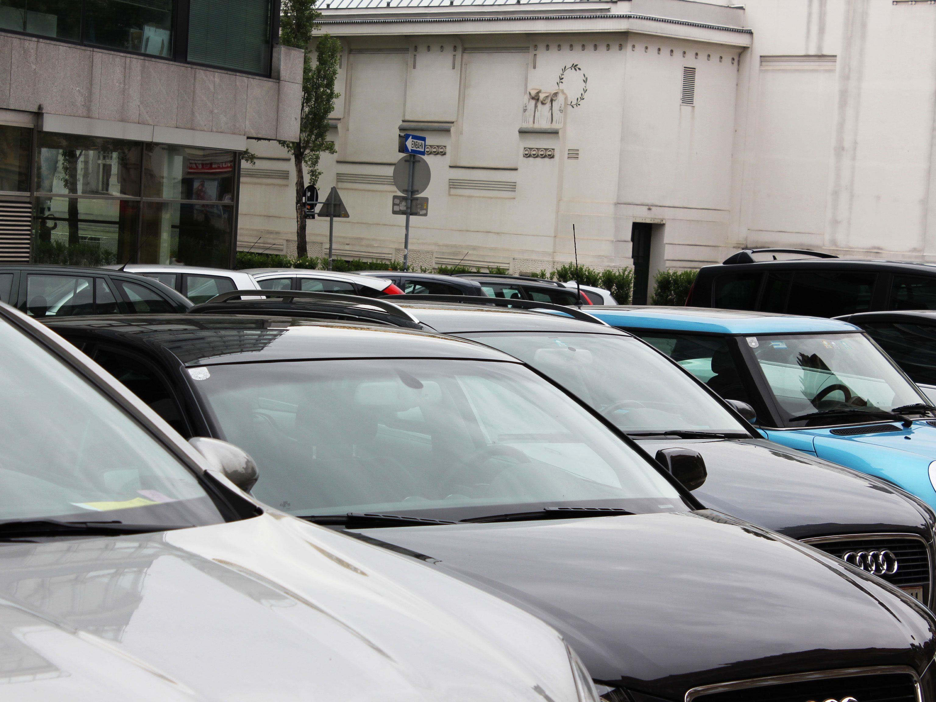 In Wien haben im Bundesländervergleich die wenigsten Einwohner ein eigenes Auto