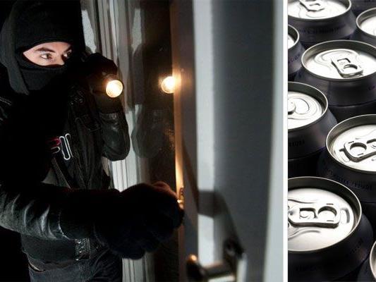 Der Einbrecher hatte es auf Bier abgesehen