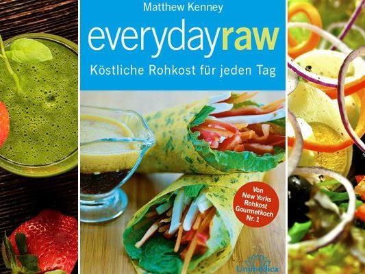 """Die Rezepte von """"Everyday Raw"""" machen Lust auf Rohkost."""