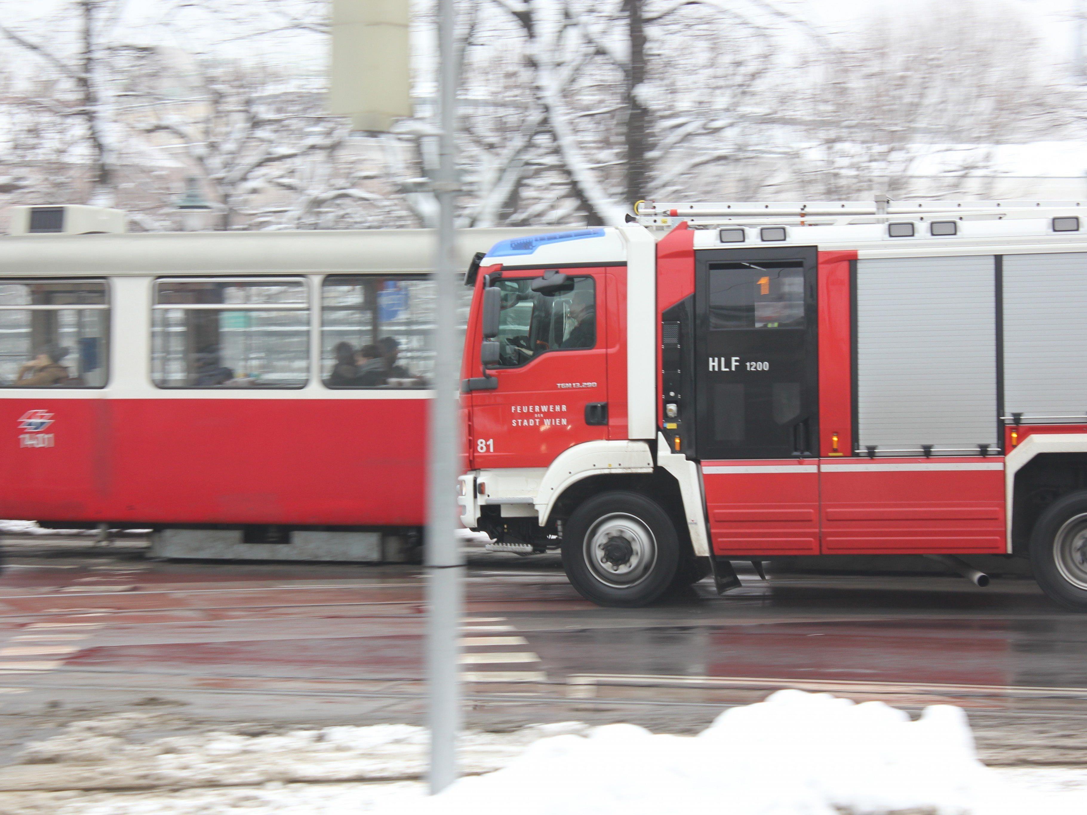 Die Feuerwehr wurde zum Auhofcenter gerufen.