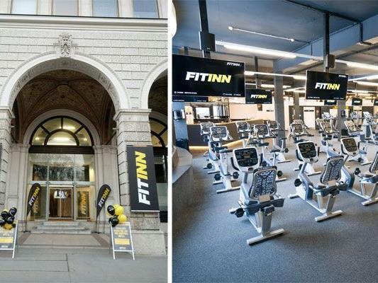 Das neue FitInn am Wiener Rathausplatz eröffnet am 6. März
