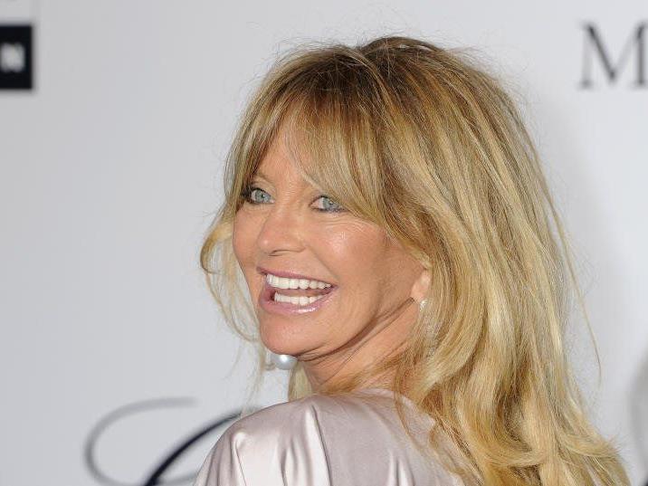 Strahlende Blondie - so lieben die Fans Goldie Hawn.