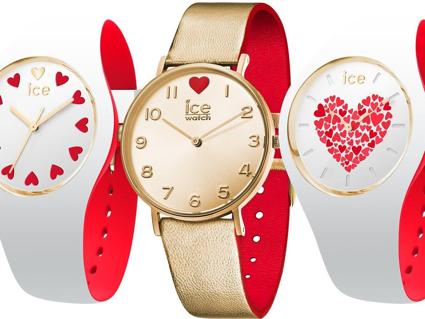 Die ICE Love-Modelle von ice-watch