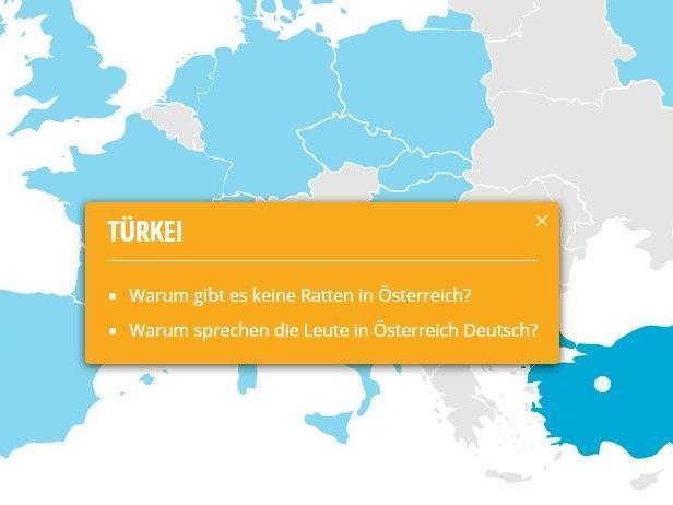 Die Fragen der europäischen Länder fallen höchst unterschiedlich aus.