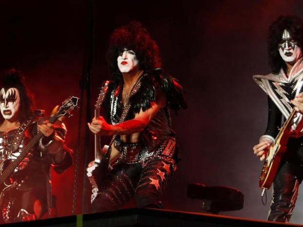 Die Fans in Wien können sich auf die Show von Kiss freuen.