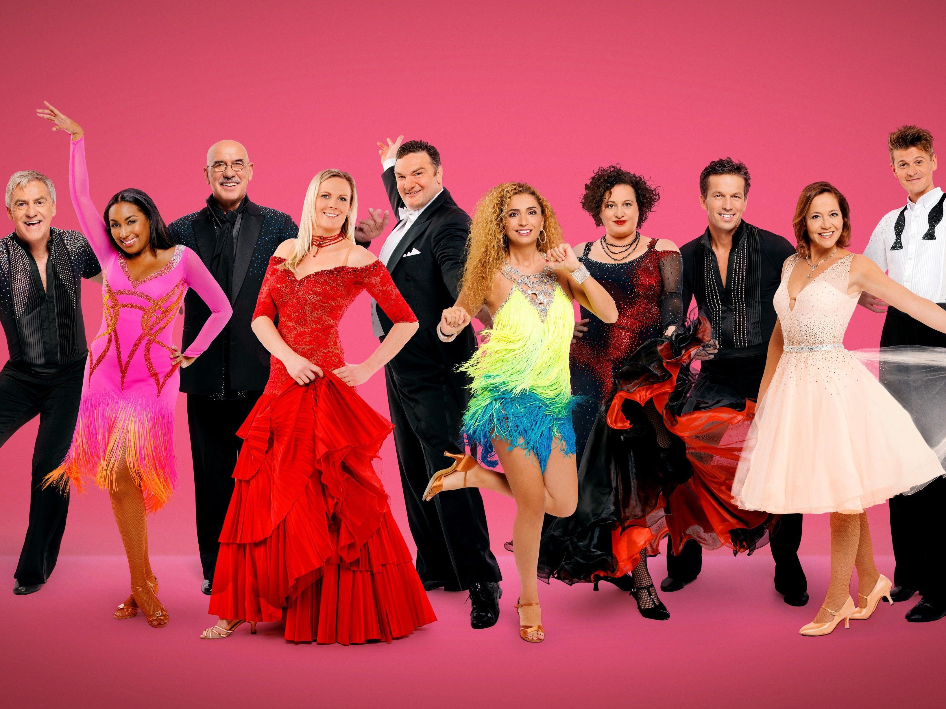 Die Dancing Stars der neuen Staffel.