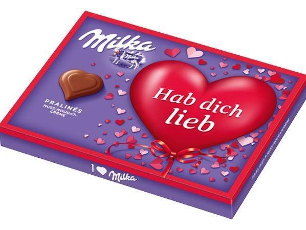 """VIENNA.at verlost 10 """"I love Milka""""-Herzpralinen."""
