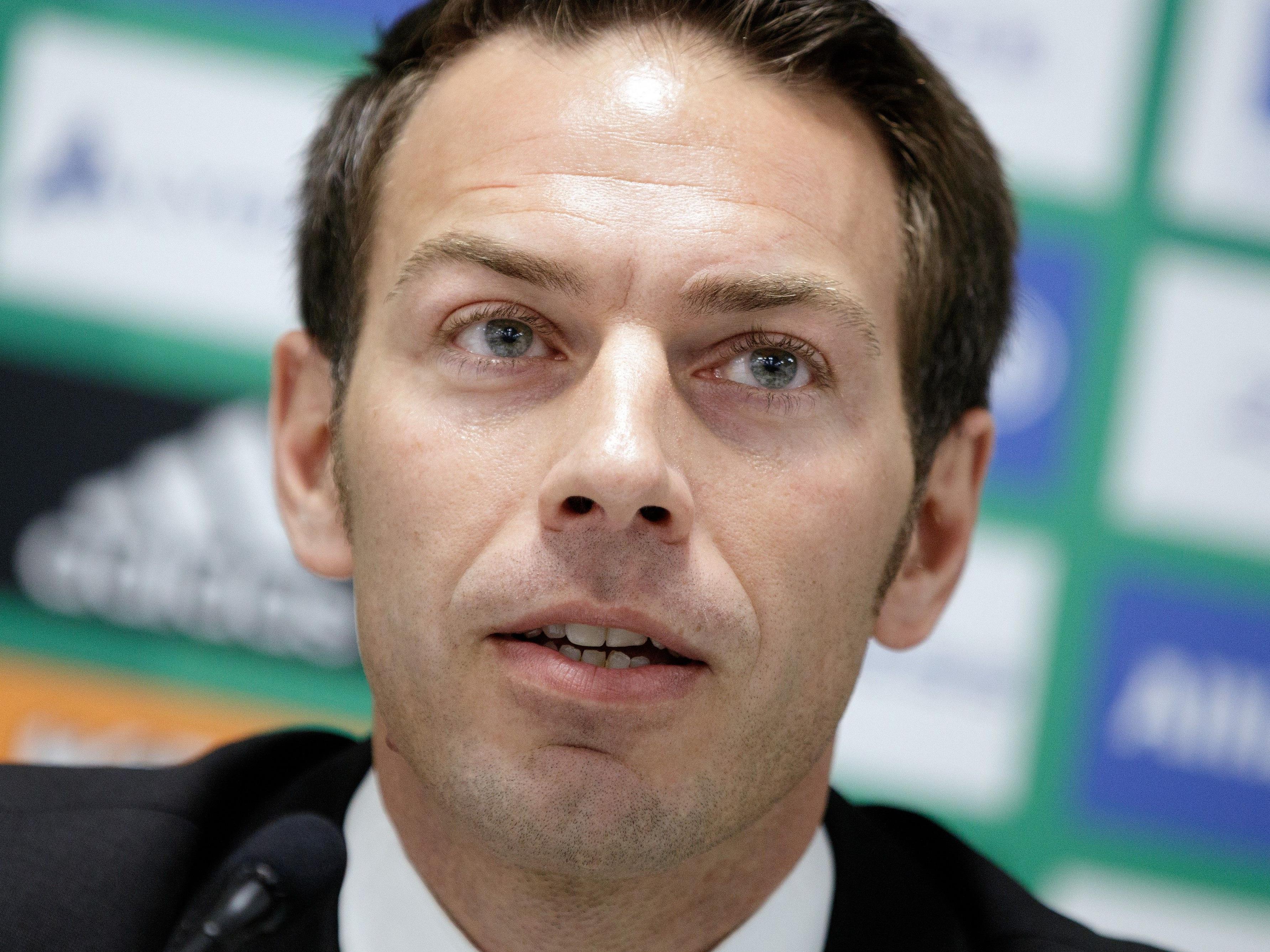 Christoph Peschek, Geschäftsführer des SK Rapid Wien, äußerte sich zur Lage