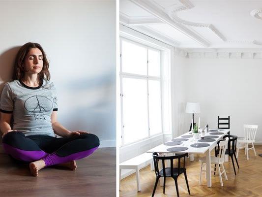 Giulia Tamiazzos ganzer Stolz: Ihr neu eröffnetes Yoga-Studio RE:TREAT in Wien-Mariahilf