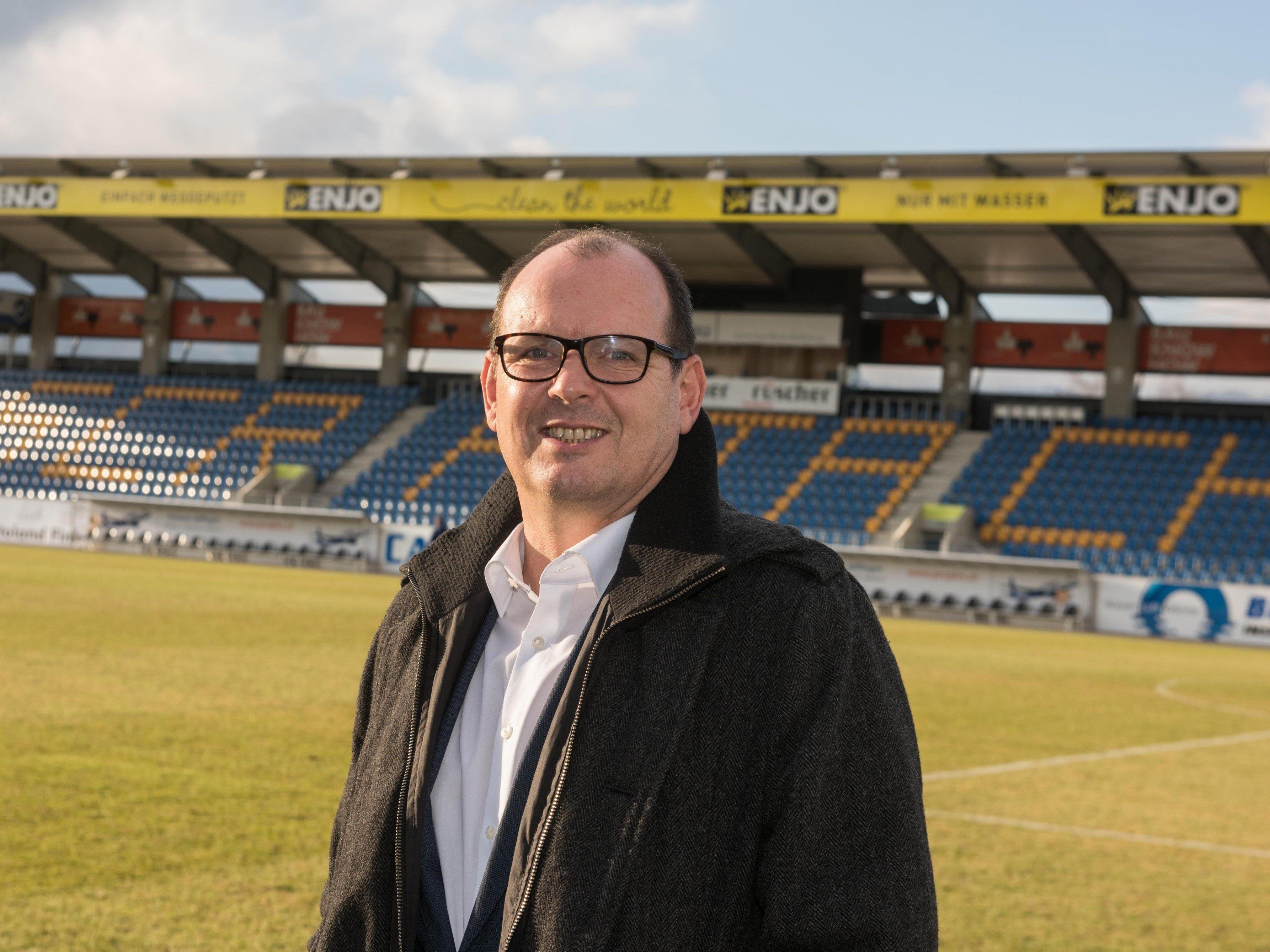 """Niederösterreicher ging """"behutsam"""" mit Ländle-Kickern um - Mittelfristiges Ziel: """"best of the rest""""."""