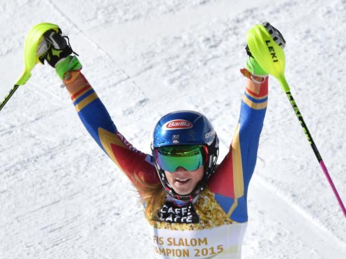 Die Amerikanerin Mikaela Shiffrin holte sich Gold.