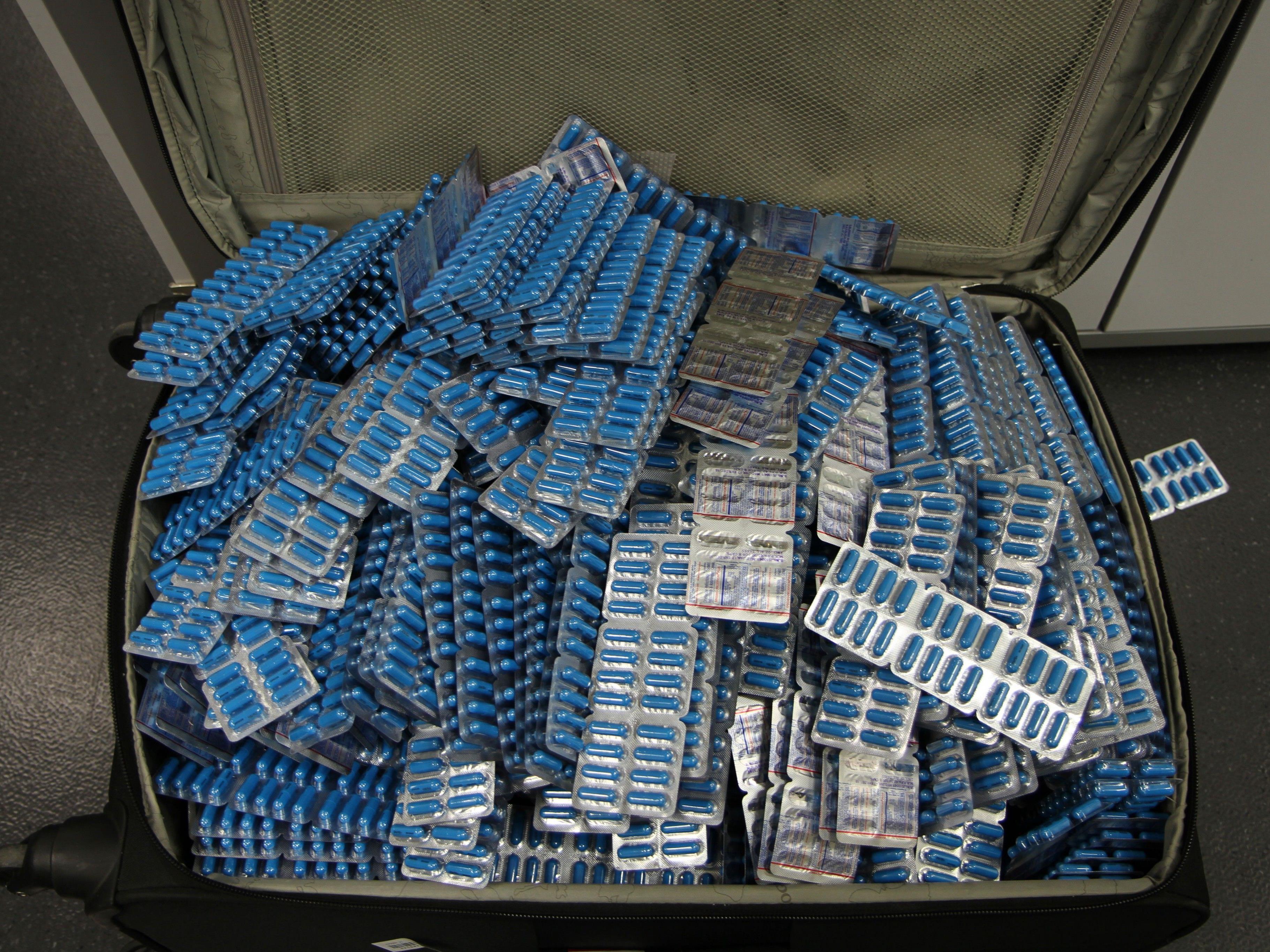 43.000 Stück eines in Indien hergestellten Schmerzmittels aus dem Verkehr gezogen