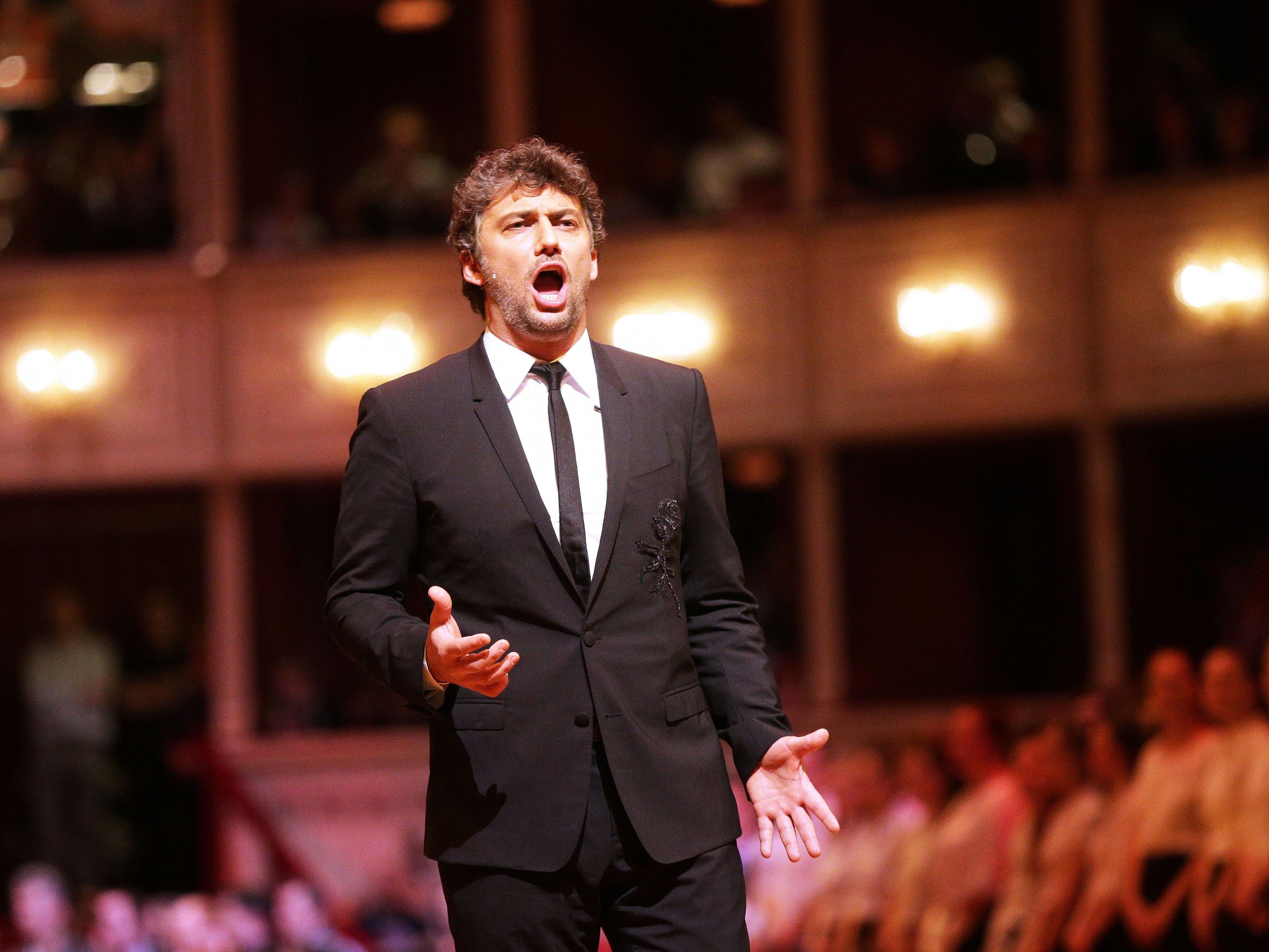 Der Tenor Jonas Kaufmann während der Generalprobe zum Opernball 2017