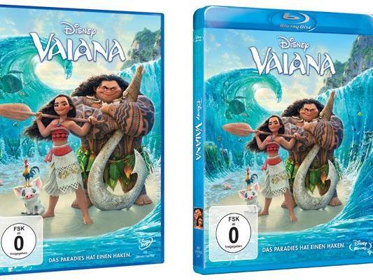 """""""Vaiana"""" erscheint auf DVD und BluRay - wir verlosen einige Exemplare"""