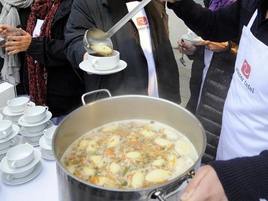 Im Kampf gegen den Hunger: Die Wiener Tafel.