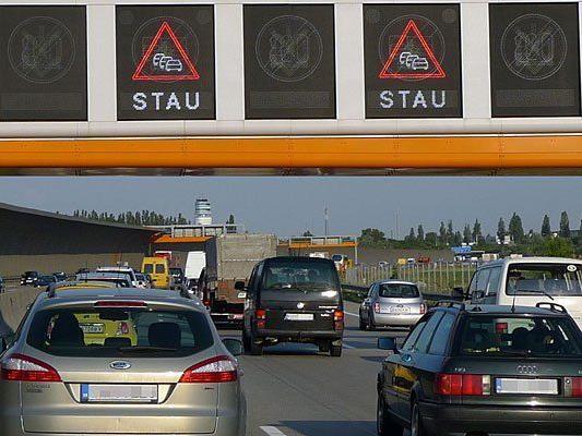 Nach Unfall auf A4: Stauungen in NÖ Richtung Wien