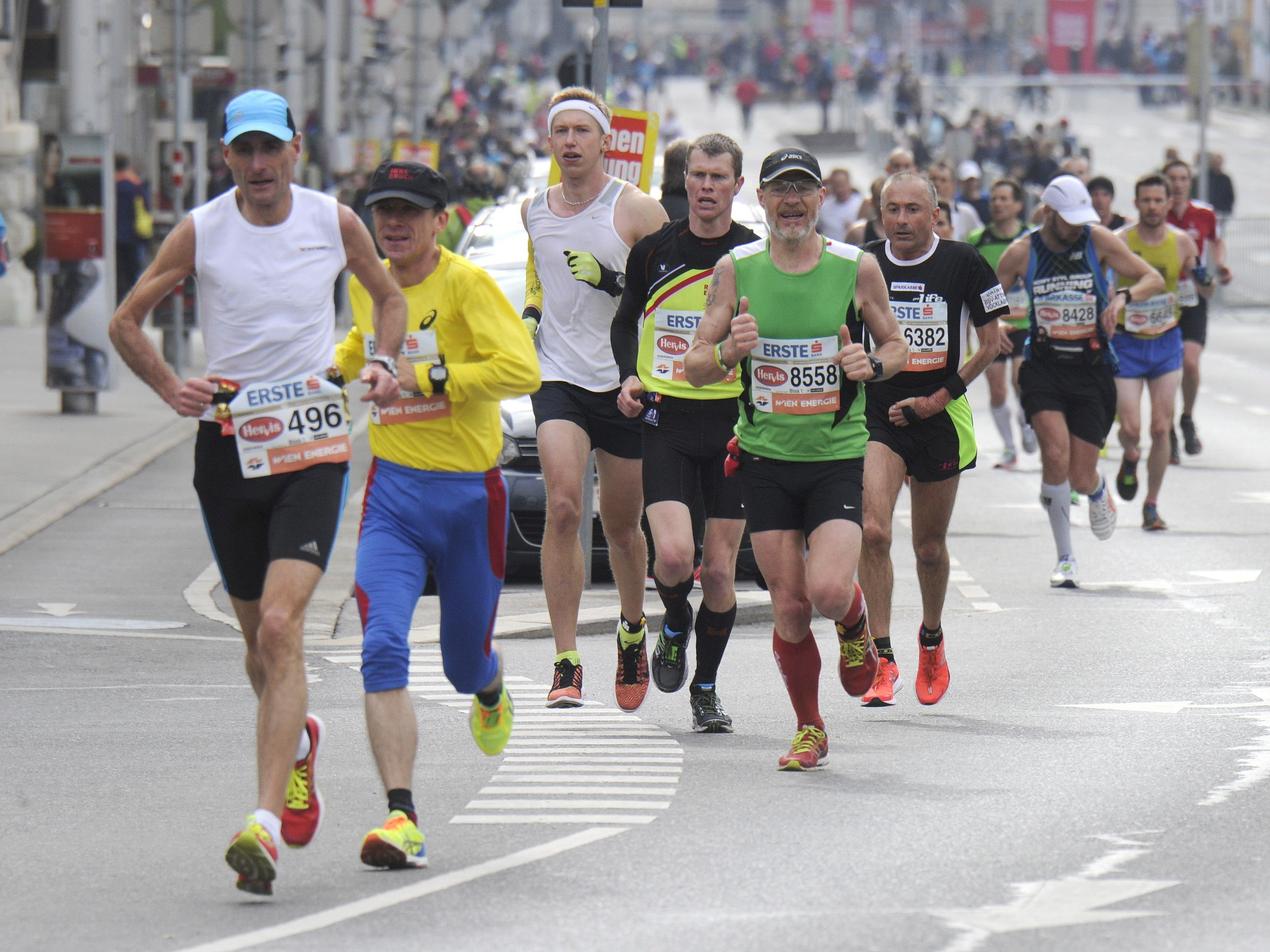 Der Vienna City Marathon 2017 findet am 23. April statt.