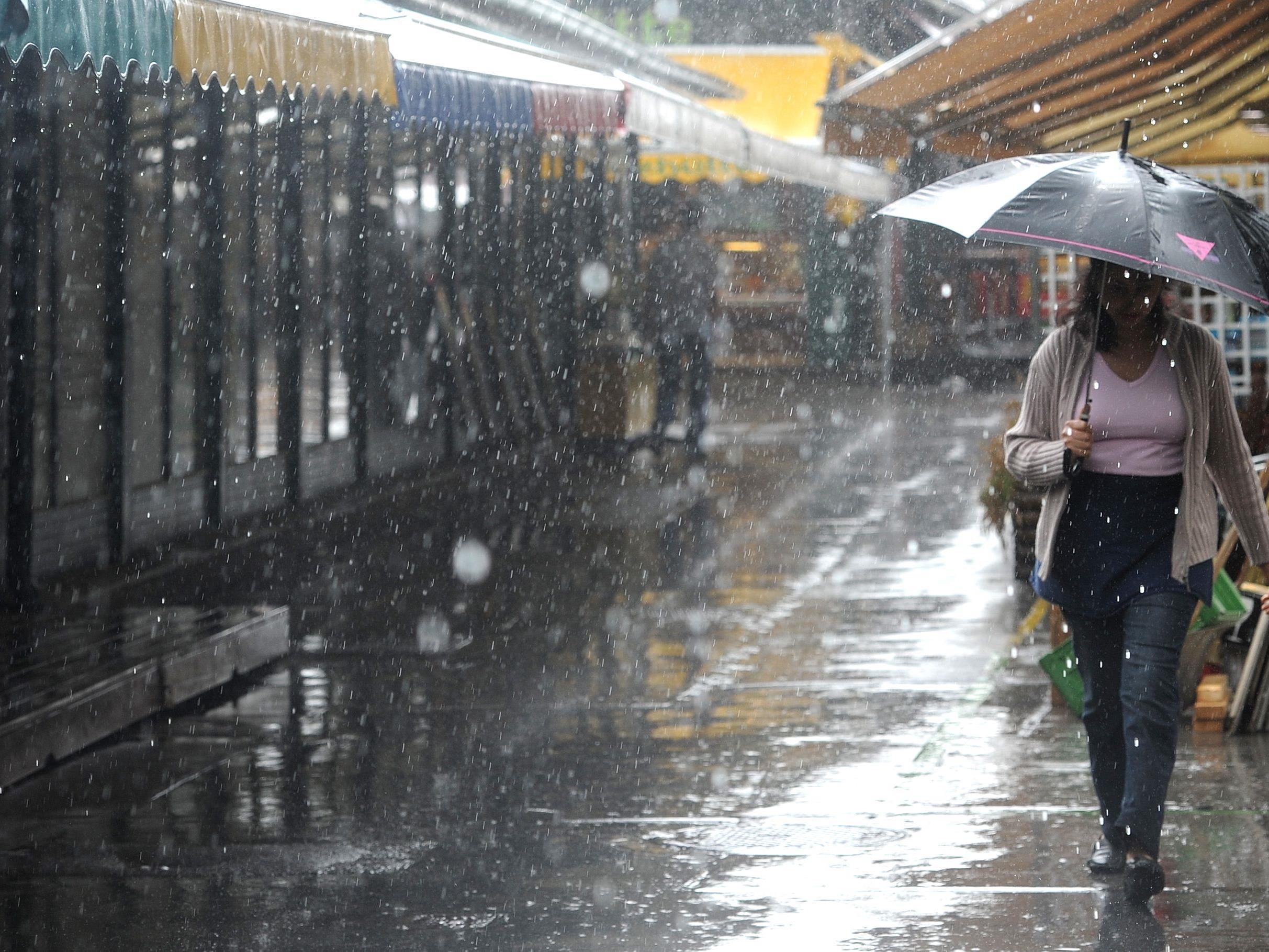 Am Wochenende wird's kühl und regnerisch.