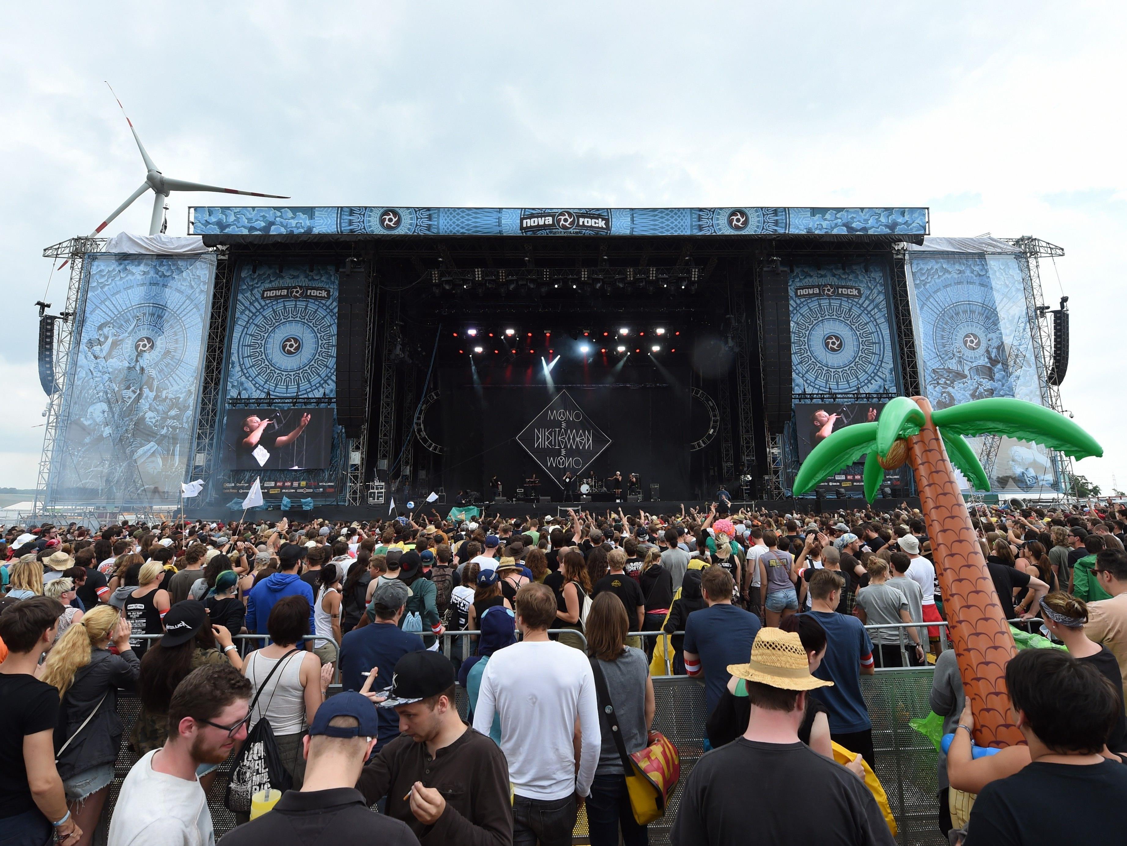 Der Nova-Rock-Veranstalter ist mit dem Vorverkauf mehr als zufrieden.