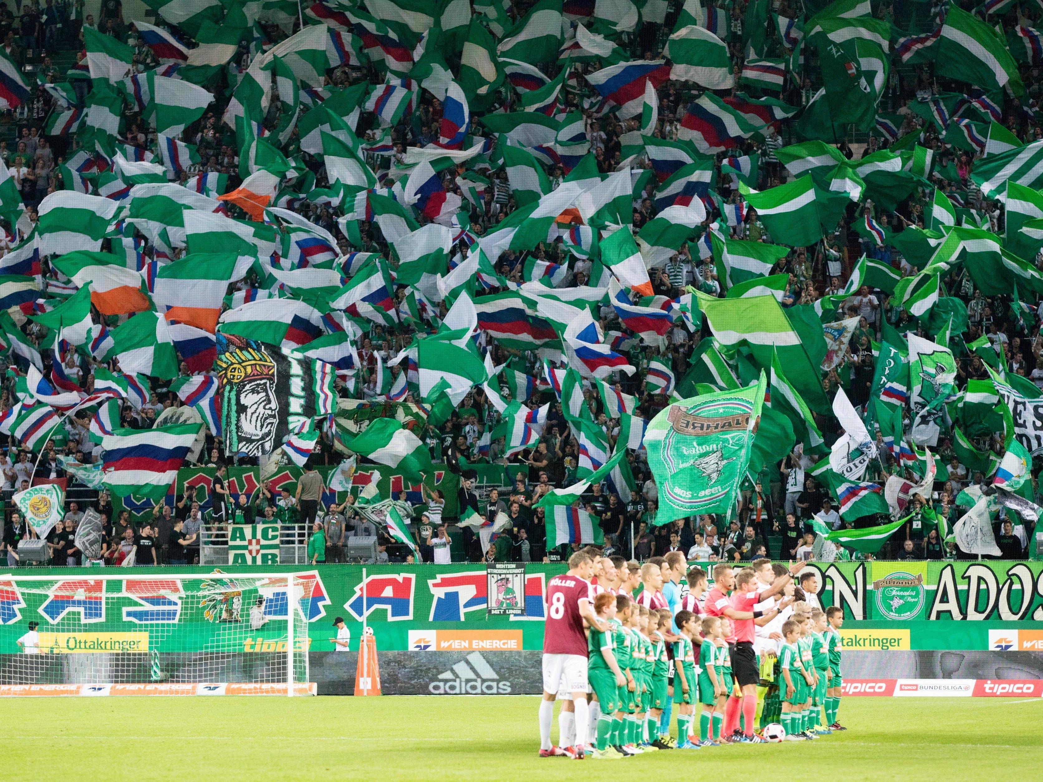 LIVE-Ticker zum Spiel SK Rapid Wien gegen SV Mattersburg ab 16.00 Uhr.