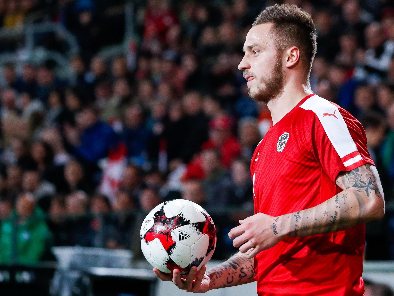Marko Arnautović wird gegen Irland zwangsweise pausieren müssen.