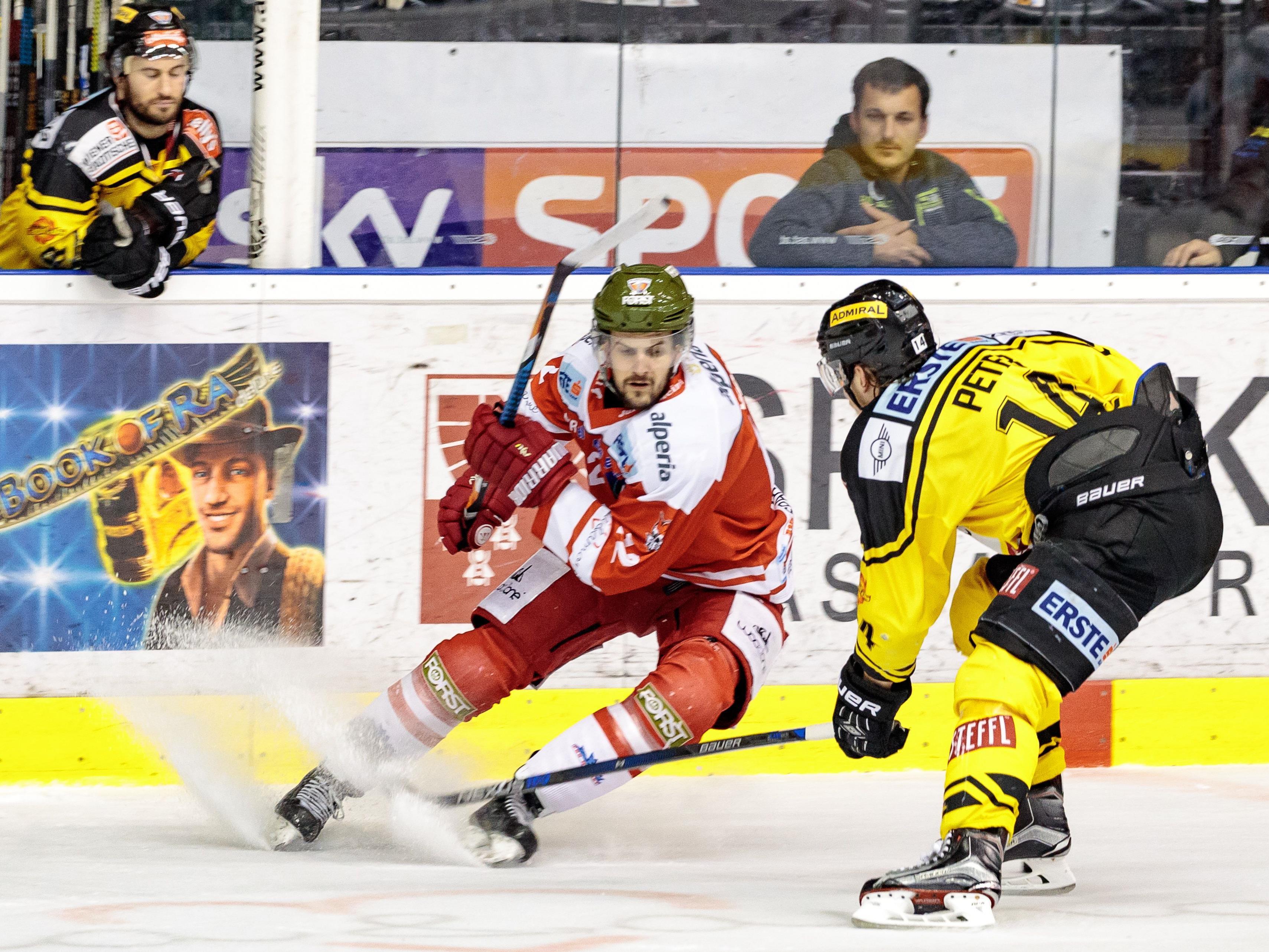 Die Vienna Capitals ziehen ohne Playoff-Niederlage ins Finale der EBEL ein.