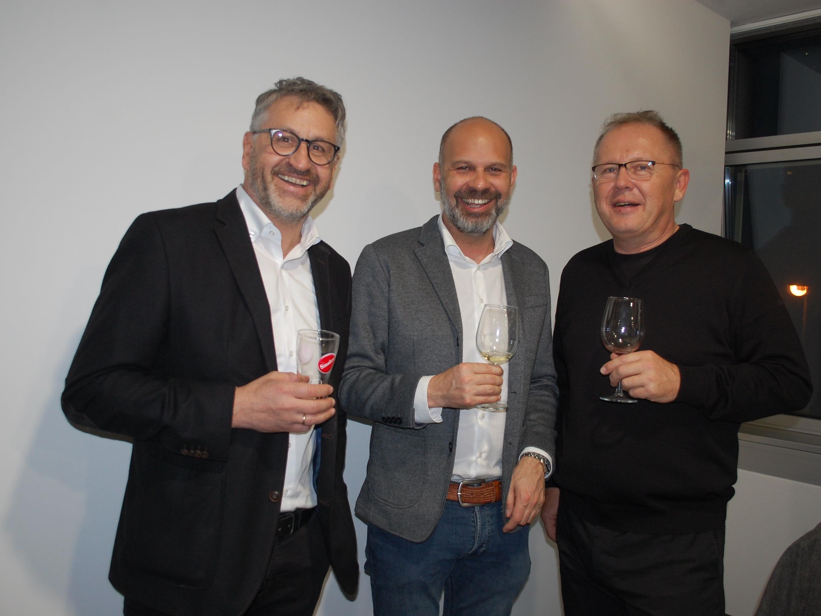 Hans-Peter Lang und Christian Vonier konnten zahlreiche Gäste an diesem Abend begrüßen.