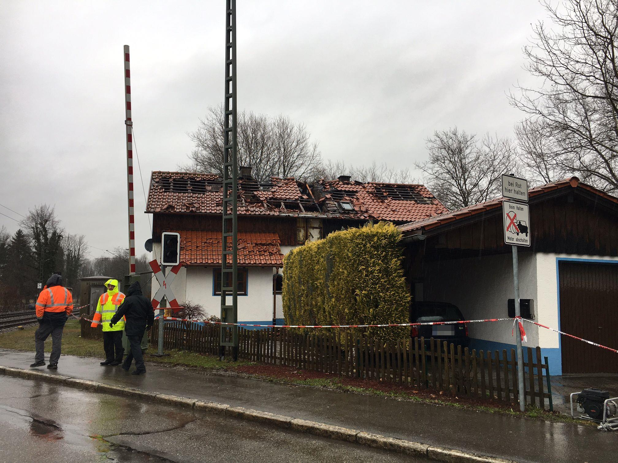 Ein Toter bei Wohnhausbrand in Lindau.