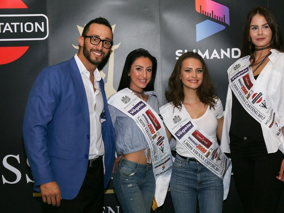 Die ersten Casting-Gewinner der Miss Vienna Wahl 2017