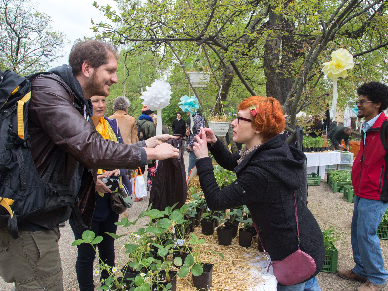 Exotisches erstehen bei der Rariätenbörse des Botanischer Gartens