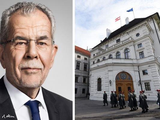 Das offizielle Portraitfoto von Bundespräsident Alexander Van der Bellen wurde veröffentlicht.