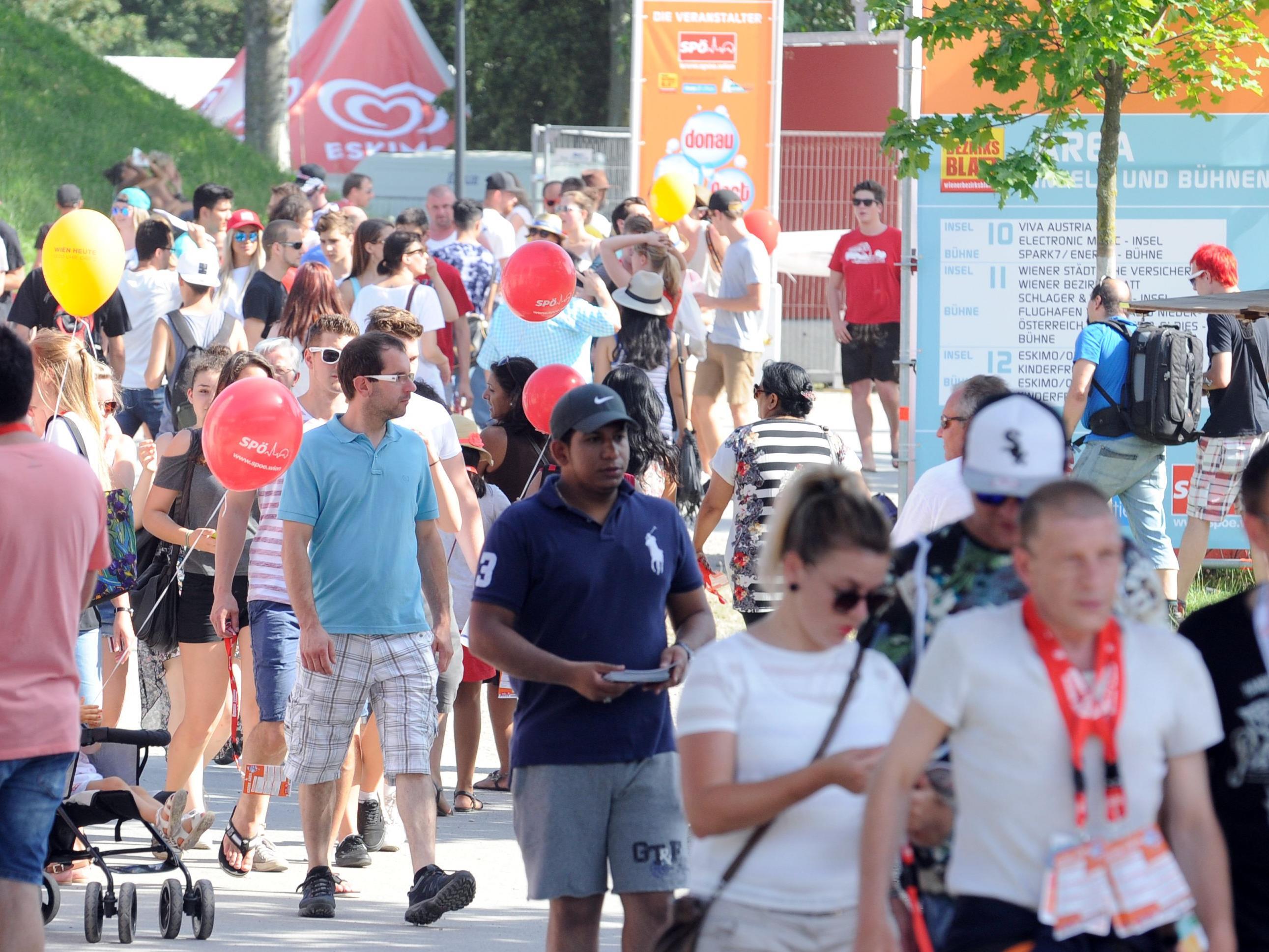 Werbewert, Berichte und Co.: So erfolgreich war das Donauinselfest 2017.