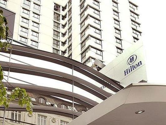 Vor dem Hilton in Wien waren Schüsse gefallen.